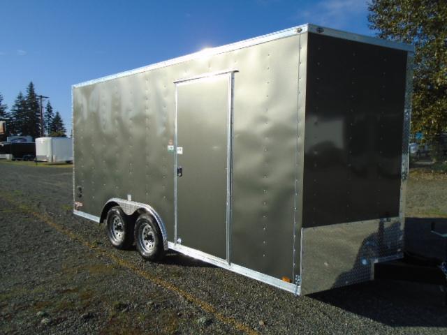 "2021 Cargo Mate E-Series 8.5x16 7K With 6"" Extra Height / Ramp Door"