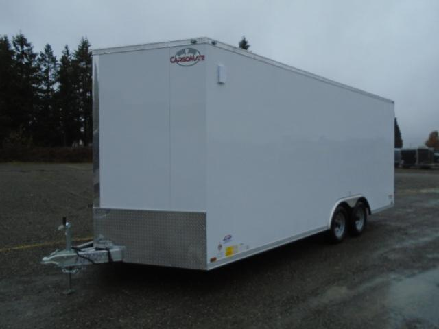 2021 Cargo Mate E-Series  8.5X20 7K w/Extra Height/Ramp Door/D-Rings