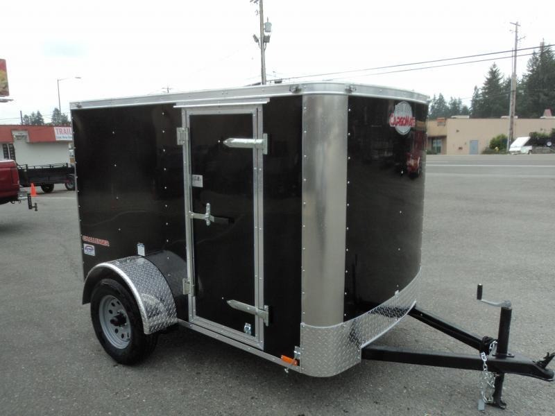 2021 Cargo Mate Challenger 5x8 Enclosed Cargo Trailer
