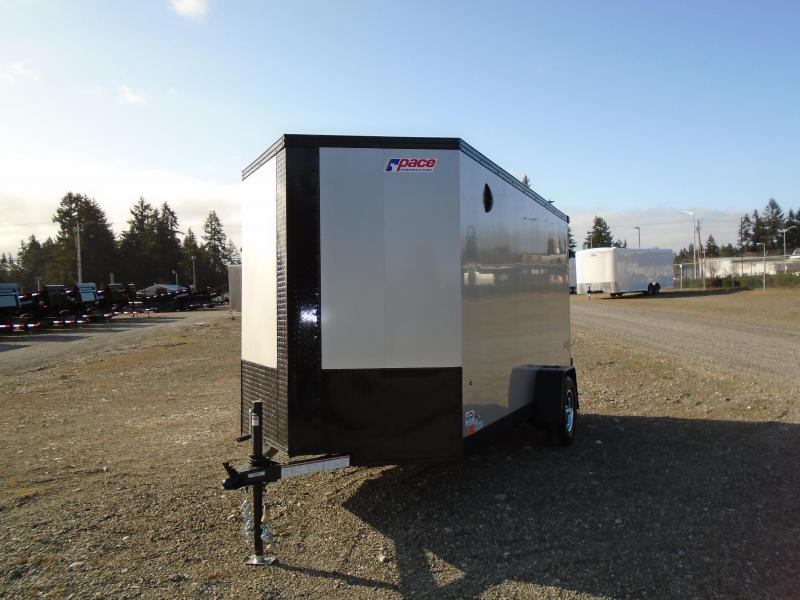 2022 Pace American Journey SE 6x12 Enclosed Cargo Trailer