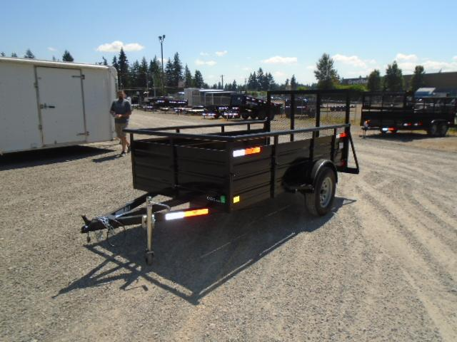 2021 Eagle Ultra Classic 5x10 with Swing Jack / D-Rings / Utility Trailer