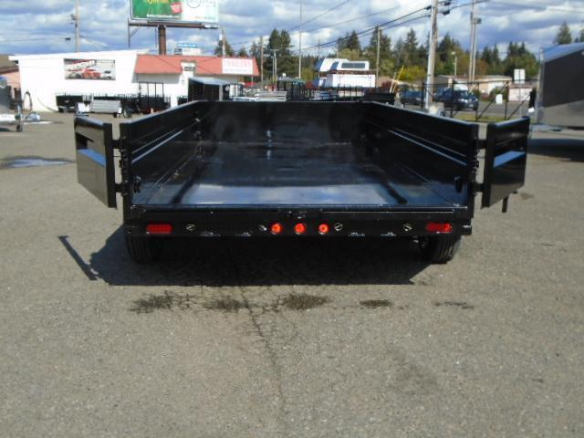 2021 PJ DG 7X14 14K DUMP TRAILER WITH TARP KIT AND RAMPS