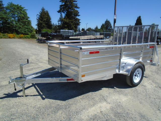 2021 Eagle Ultra Lite 6x10 Utility Trailer with Spare Tire Mount
