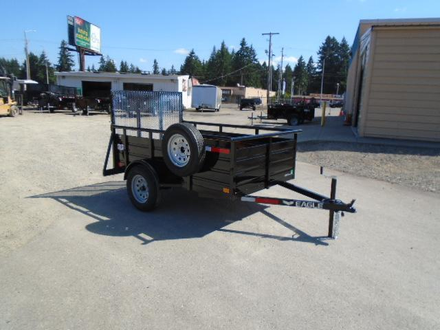 2021 Eagle Ultra Classic 5x8 with Spare Tire & Mount Utility Trailer