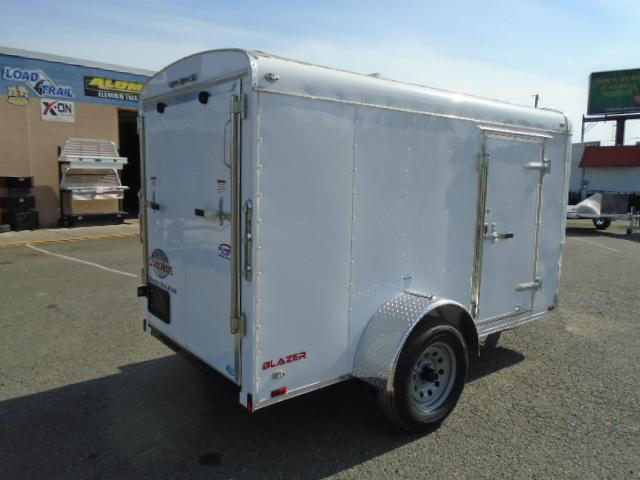 """2021 Cargo Mate Blazer 5x10 With 6"""" Extra Height / Ramp Door"""