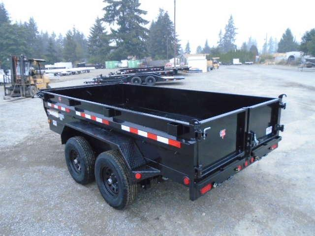 2021 PJ 6x12 10K Dump w/Tarp Kit and Ramps