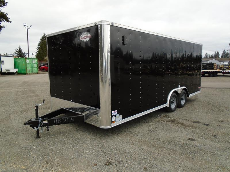 2021 Cargo Mate E-Series  8.5X20 7K w/Ramp Door/D-rings