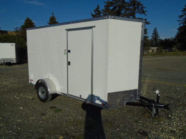 2021 Cargo Mate E-series 6X12 Cargo Trailer With Extra Height/Ramp