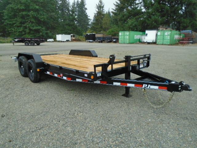 "2021 PJ Trailers 7x18 14K 6"" Channel Equipment Trailer"