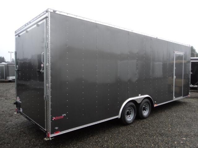 "2021 Cargo Mate E-Series 8.5x26 10K With 6"" Extra Height / Ramp Door"