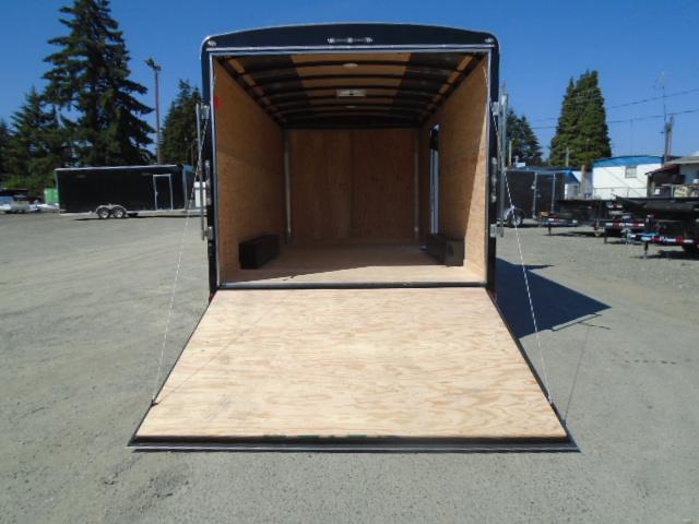 """2021 Cargo Mate Blazer 8.5x16 10K With 6"""" Extra Height / Ramp Door"""