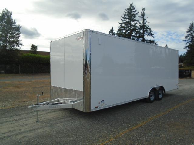 """2021 Cargo Mate E-Series 8.5X24 7K With 6"""" Extra Height / D-Rings / Ramp Door"""