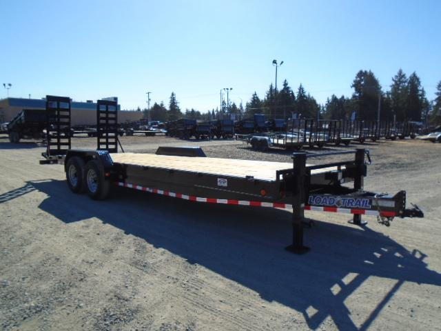 2022 Load Trail Pintle Hook Deck Over 8.5x24 Equipment Trailer