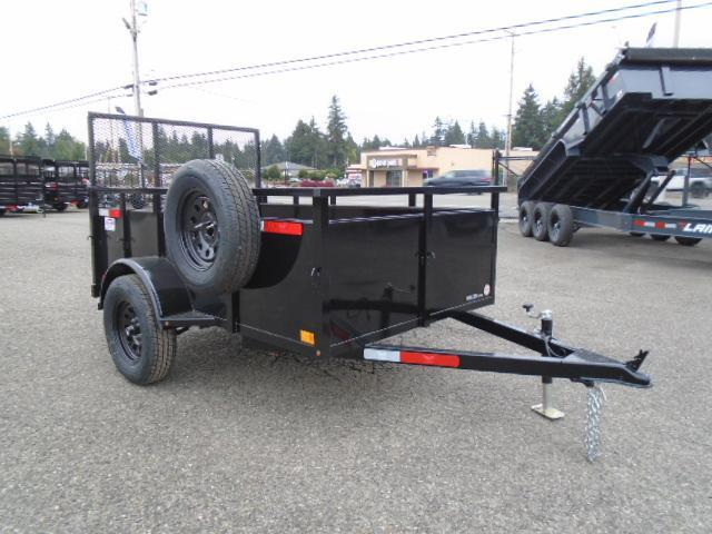 2022 Eagle Falcon 5x8 With Swing Up Jack / Spare Tire & Mount
