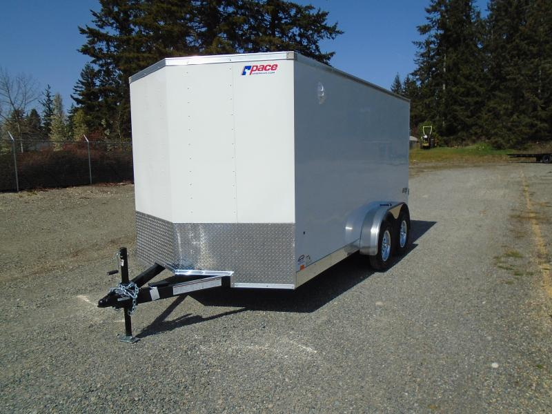"2022 Pace American Journey 7x14 7K W/6"" Extra Height/Ramp"