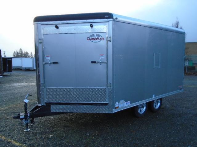 2021 Cargo Mate Snowbird 8.5x16 7K Snowmobile Enclosed Trailer