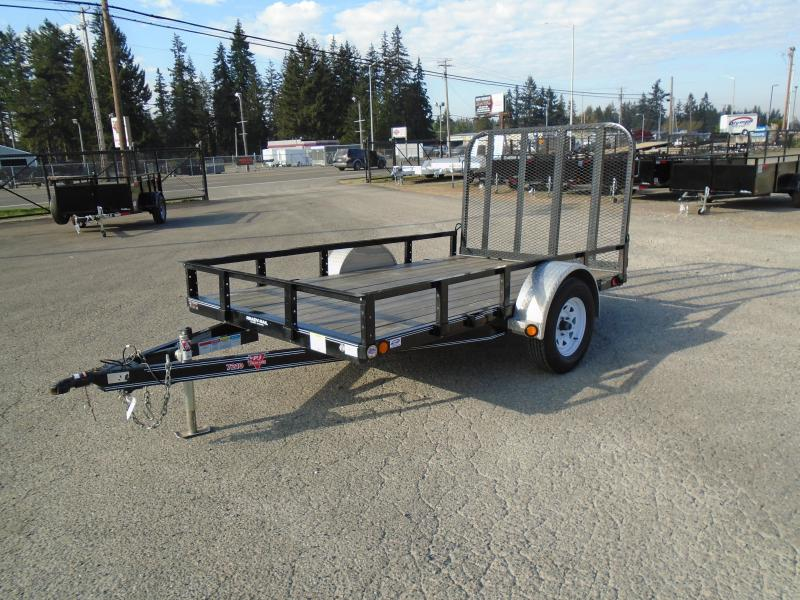 USED 2018 PJ Trailers 6X10 UTILITY