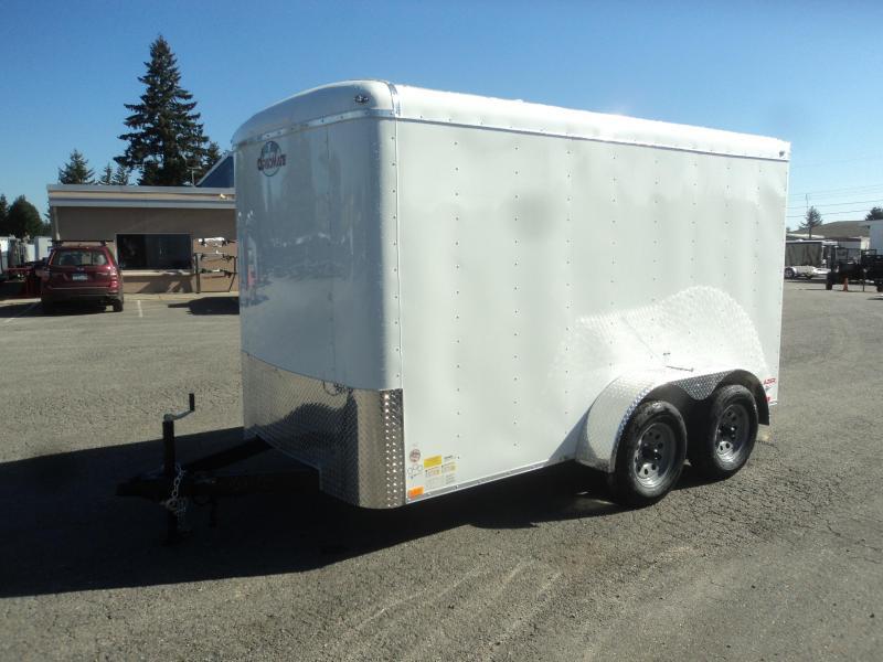 2021 Cargo Mate Blazer 6x12 7K With Cargo Doors