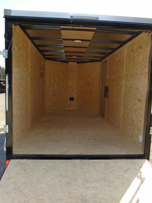 """2022 Pace American Cargo Sport 7X12 +2 Foot Bullnose With 6"""" Extra Height / Ramp Door"""