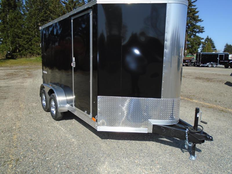 """2022 Pace American Cargo Sport 7X12 +2 Foot Bullnose W/6"""" Extra Height/Ramp"""