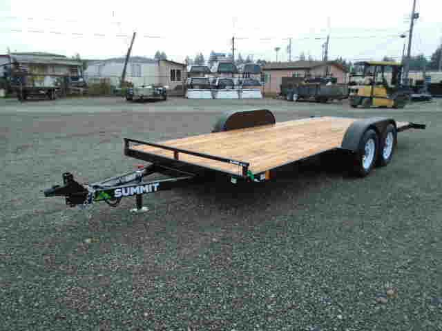 2021 Summit Alpine 7x18 7K Tilt Trailer