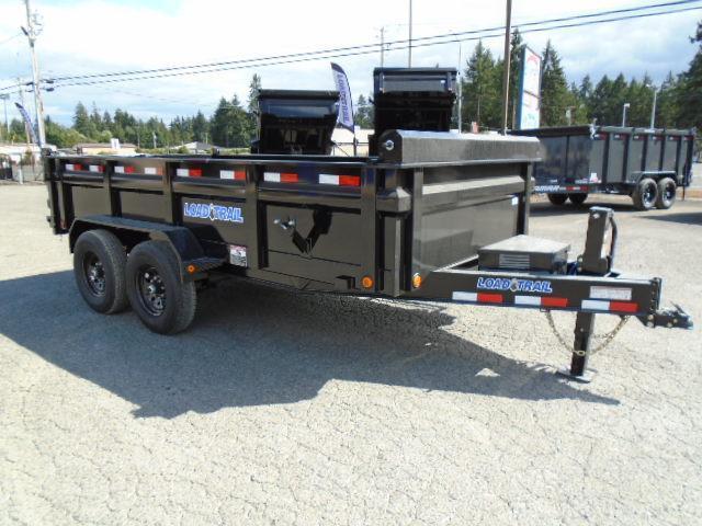 "2022 Load Trail 7X14 14K w/Tarp Kit/24"" sides/10K JACK/8 Amp Charger/Max Step"