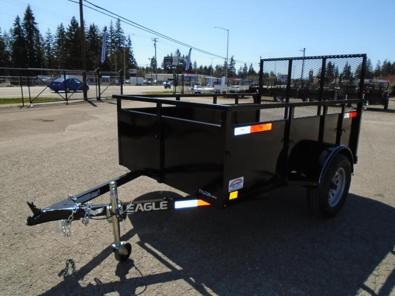 2021 Eagle Falcon 5x8 With Swing Jack/D-Rings/Spare Tire Mount