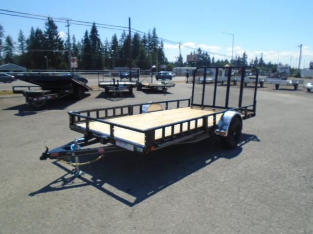 2022 PJ Trailers 7X14 5K with Side Mount ATV Ramps/Electric brake Utility Trailer