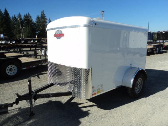 """2020 Cargo Mate Blazer 5x8 with 6"""" extra height/Rear Ramp Enclosed Cargo Trailer"""
