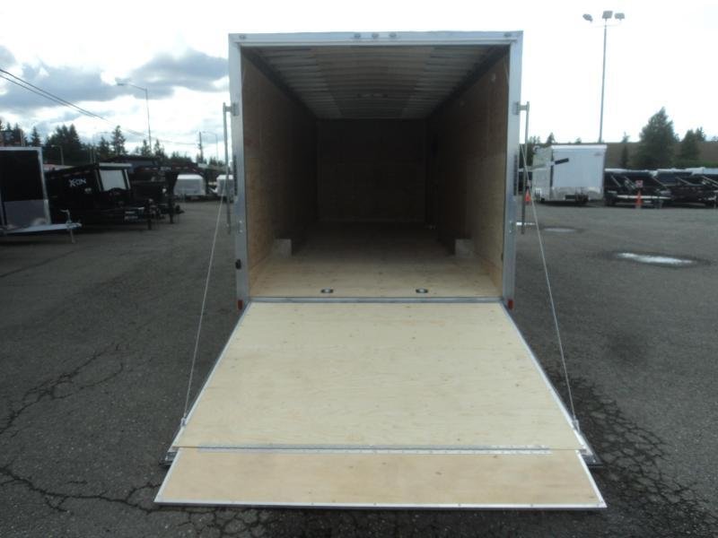 "2021 Cargo Mate Aluminum E-Series 8.5x24 7K With 6"" Extra Height / D-Rings / Ramp Door"