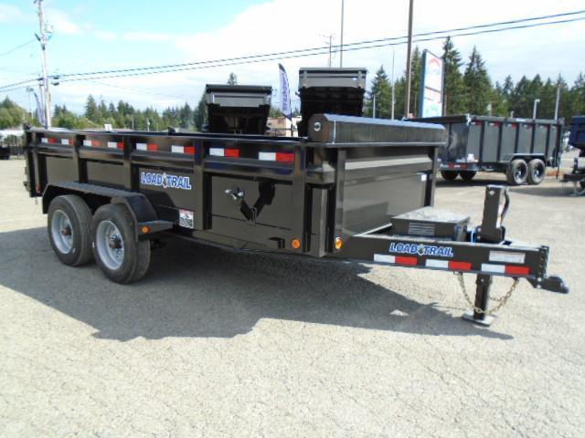 "2021 Load Trail 7X14 16K w/Tarp Kit/24"" sides/10K JACK/8 Amp Charger/Max Step"