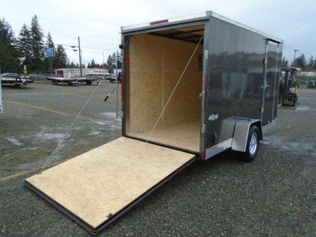 """2021 Pace American Outback 6X12 With 6"""" Extra Height / Ramp Door"""