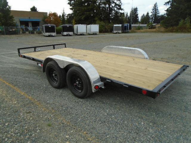 2022 PJ Trailers 7x16 7K Car / Racing Trailer