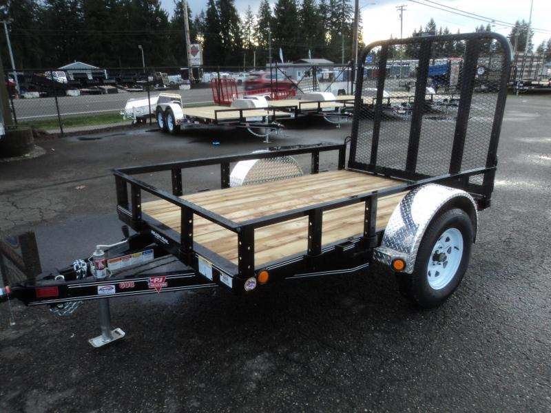 2021 PJ Trailer 5x8 w/Fold up Gate
