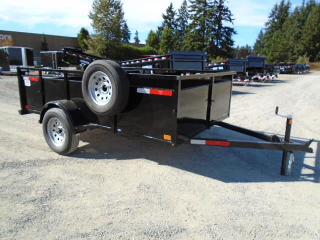 2021 Eagle Falcon Lightspeed 6x10 With Spare Tire & Mount Utility Trailer