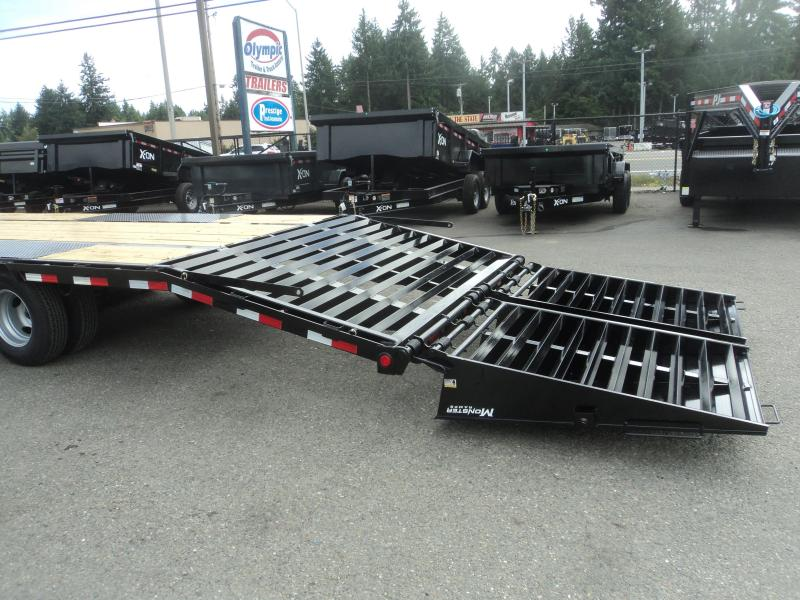 2021 PJ 8.5x40 Low Pro Flatdeck with Duals/Monster Ramps
