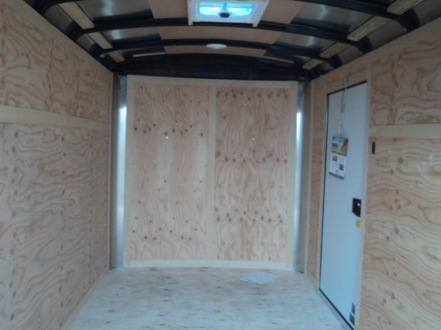 """2021 Cargo Mate Blazer 6X12 With 6"""" Extra Height / Ramp Door"""