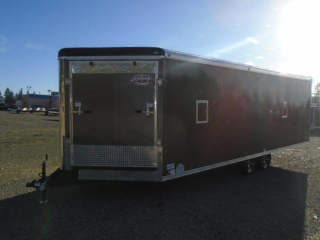 2021 Cargo Mate 8.5X26 7K Snowmobile Trailer