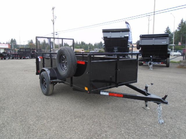 2022 Eagle Trailer Falcon 5x10 With Swing Jack / Spare Tire & Mount Utility Trailer