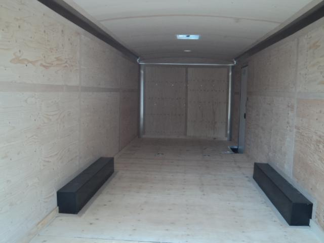 """2021 Cargo Mate Blazer 8.5x26 10K With 6"""" Extra Height / Spare Tire / D-Rings / Ramp Door"""