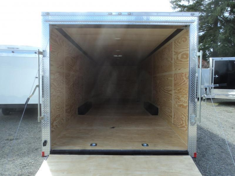 """2021 Cargo Mate E-Series 8.5x28 10K With 6"""" Extra Height / D-Rings / Ramp Door"""