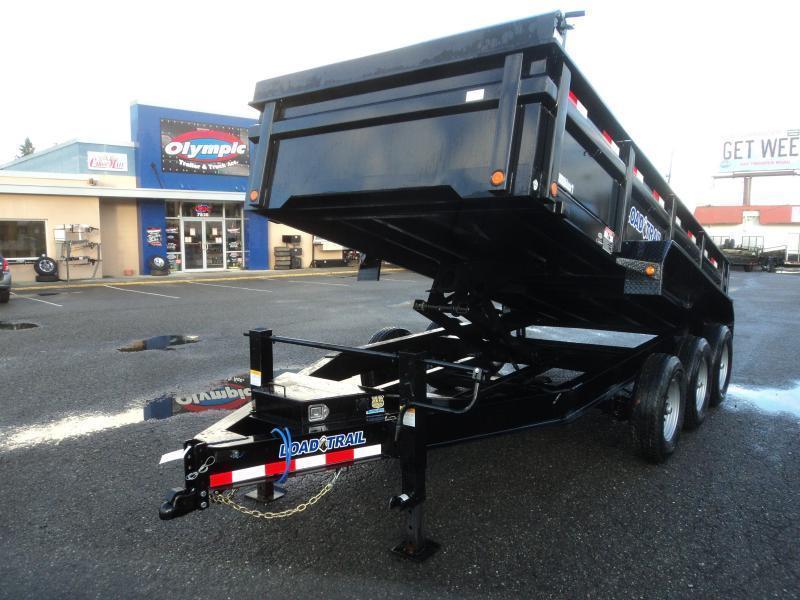 2021 Load Trail 7X16 21K Dump With Scissor Lift/Tarp Kit/Ramps W/14PLY TIRES