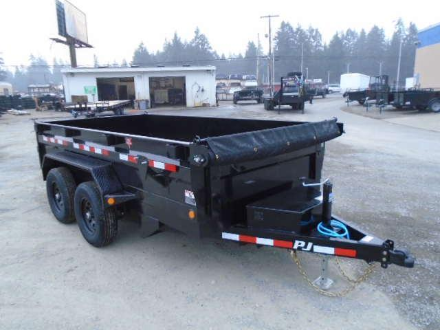 2021 PJ 6x12 10K Dump w/Tarp Kit and Ramps