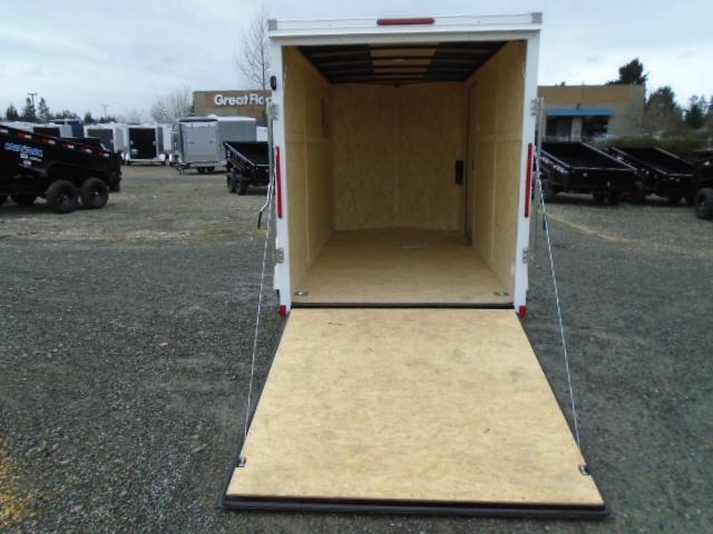 "2022 Pace American Journey Cargo 6X12 With 6"" Extra Height / Ramp Door"