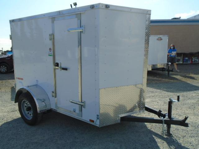 2021 CARGO MATE E-SERIES 5X8 ENCLOSED WITH EXTRA HEIGHT