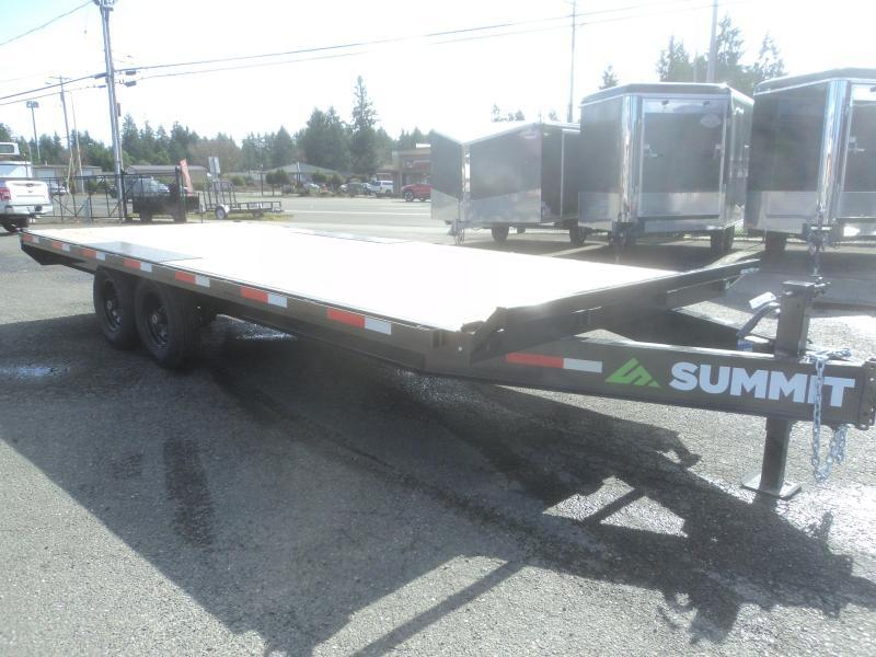 2021 Summit Denali Pro 8.5x20 14K Deckover Equipment Trailer