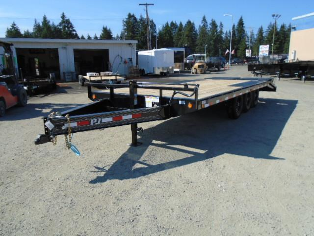2021 PJ Trailer 8.5X22 21K Deckover w/Monster Ramps