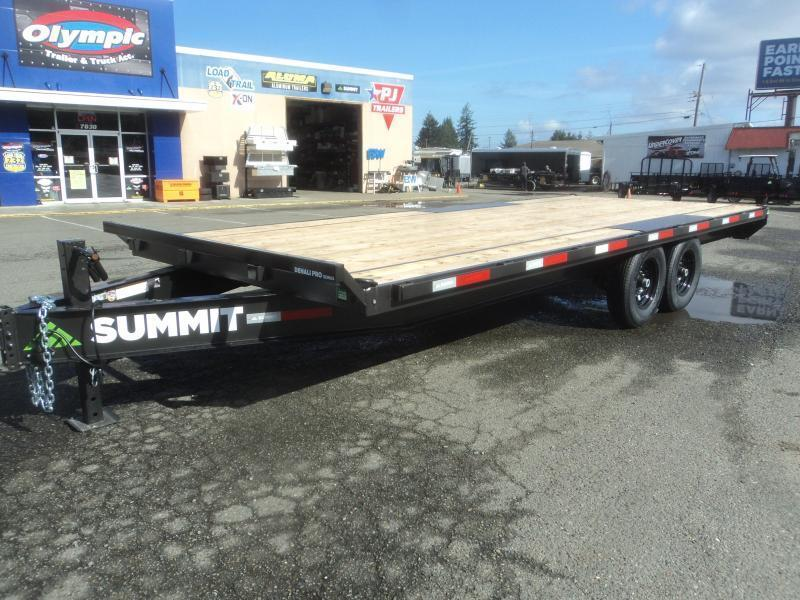 2021 Summit Denali Pro 8.5x20 14K Deckover Equipment Trailer