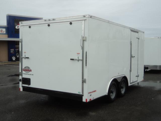 2021 Cargo Mate Challenger 8.5x16 7K With Vent / Ramp Door