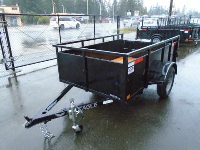 2021 Eagle Falcon Lightspeed 5x8 Utility Trailer